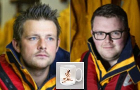 Lifeboat men who were sacked over a 'pornographic' mug lose appeal
