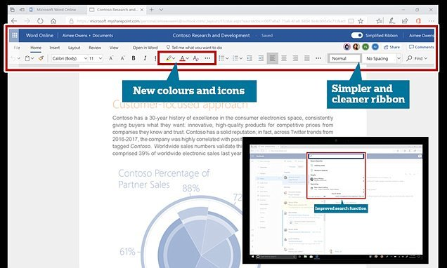Microsoft Office 365 redesign rolls-out today