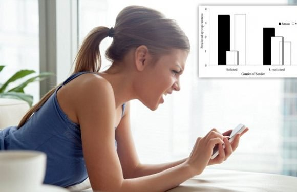 Sext messages more likely to viewed as 'sexual harassment' from men