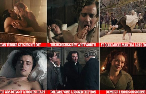 12 classic moments in Poldark, by JIM SHELLEY