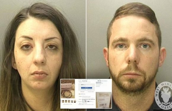 Couple pocketed more than £40,000 by selling stolen items on eBay
