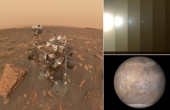 Curiosity Rover takes incredible selfie during Martian dust storm