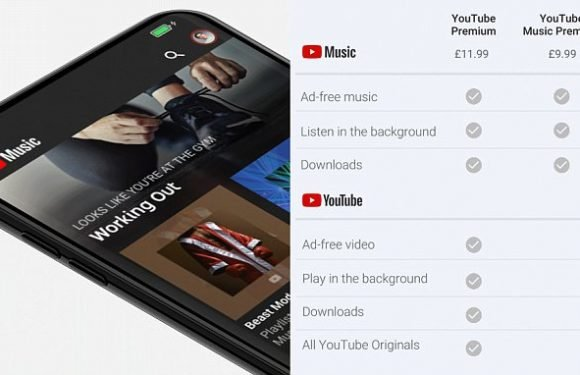 Google just launched a YouTube subscription service to rival Spotify