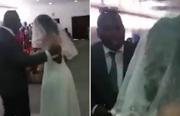 Woman gatecrashes lover's wedding to his new girl – in a wedding dress