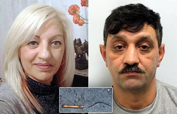 Man who waited for ex-girlfriend before stabbing her to death jailed