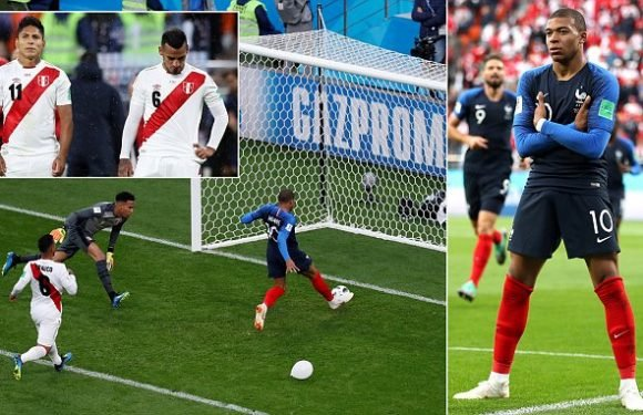 France 1-0 Peru: Kylian Mbappe is the hero for Didier Deschamps' side