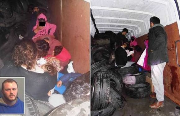 DJ caught trying to smuggle nine illegal immigrants into Britain