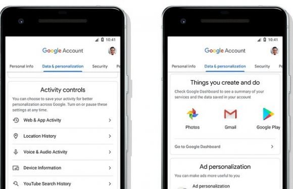 Google's new update tells you exactly how it uses your private data