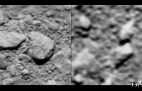 Video reveals Rosetta's kamikaze end as it crashed into a comet
