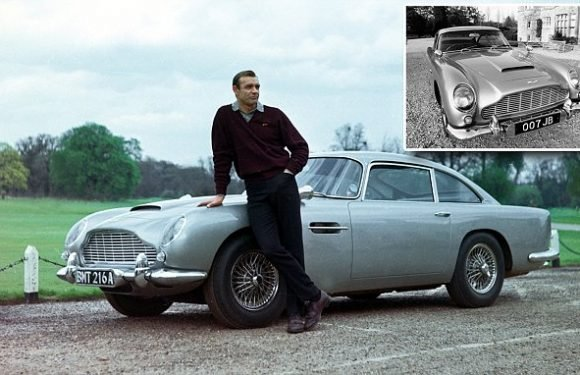 Legendary Aston Martin driven by Sean Connery in Goldfinger 'found'