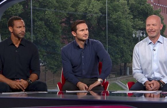 Shearer, Lampard and Ferdinand delighted with England's display