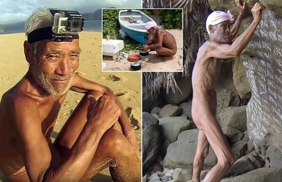Naked hermit who lived on a island for 29 YEARS is sent back to Japan
