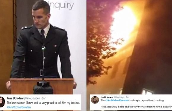 Sister of firefighter at Grenfell Inquiry praises her 'brave' brother