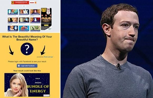 Facebook quiz app exposed the private data of up to 120 MILLION people