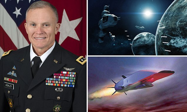US military chief claims Russia And China are building space weapons