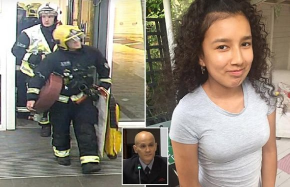 Firefighter describes desperate search for 12-year-old Grenfell victim