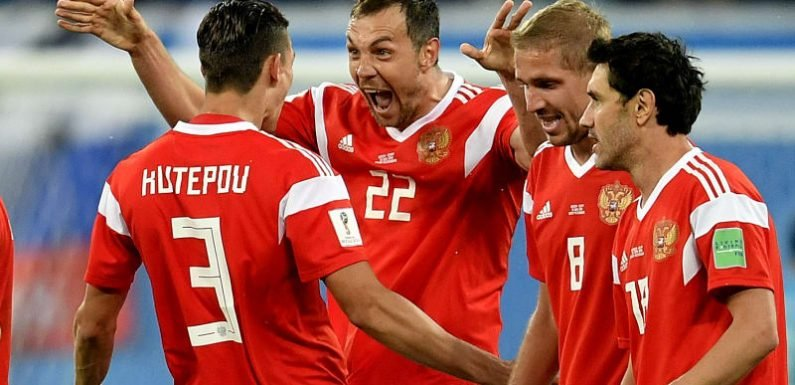 Russia on brink of next stage, Egypt's World Cup in tatters