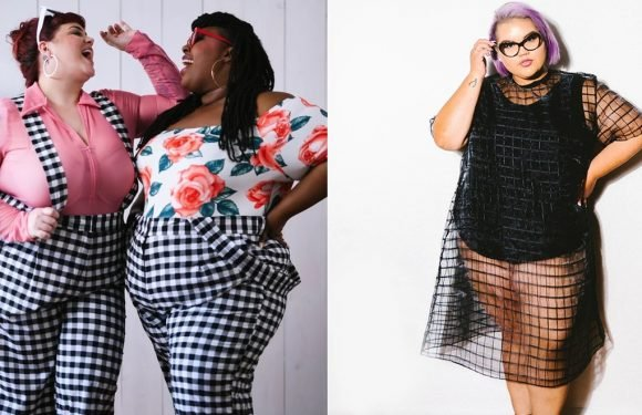 Ashley Nell Tipton's New Plus-Size Collection Is Going To Make You Love Sheer Bodysuits & Gingham Overalls