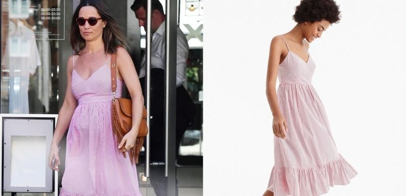 Pippa Middleton is 'Bout to Sell Out This $158 J.Crew Dress Faster Than Kate Middleton Could