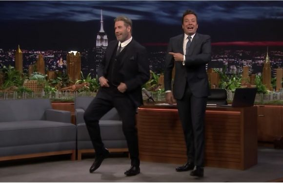 John Travolta Busts Out His Famous Grease Moves 40 Years Later — Yep, He's Still Got 'Em!