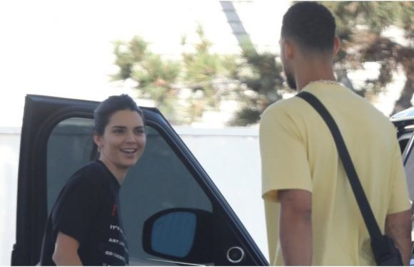 We Spent So Much Time Trying to Read Kendall Jenner's Amazing Tee, We Didn't Even Notice Her Cute BF