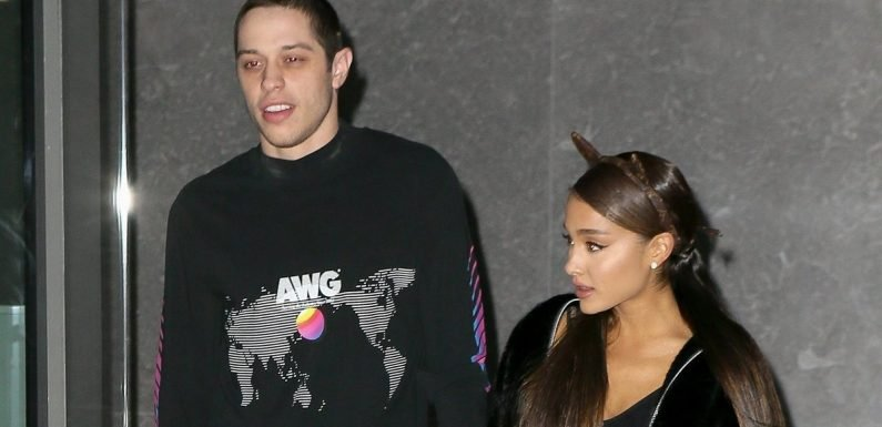 Ariana Grande Somehow Pulled Off Wearing a Louis Vuitton Miniskirt With Matching Logo Cat Ears