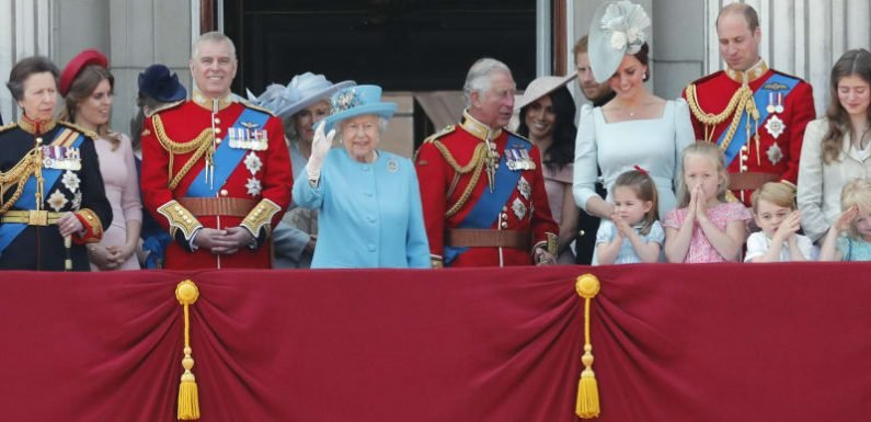 Meghan joins royal family for Trooping the Colour