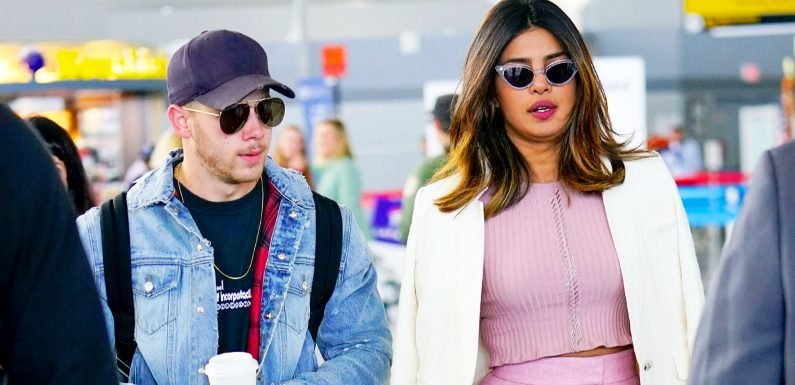 Nick Jonas, Priyanka Chopra Step Out for the First Time as a Couple
