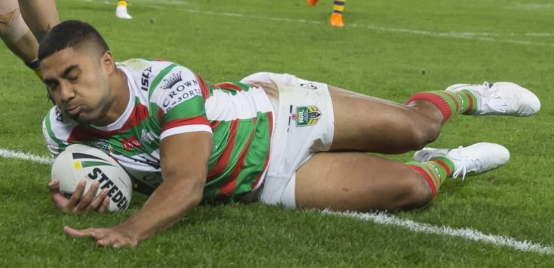 Robert bags four tries as Rabbitohs run amok in battle of brothers
