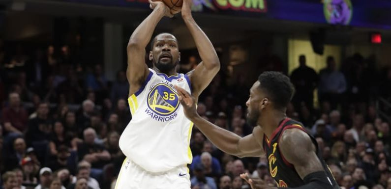 Warriors beat Cavs to close in on second straight NBA title