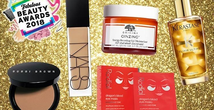 Fabulous Beauty Awards 2018: the shortlist – premium products worthy of your monthly payday splurge