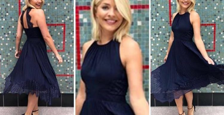 Where does Holly Willoughby's outfit come from today? This Morning host's Whistles dress revealed