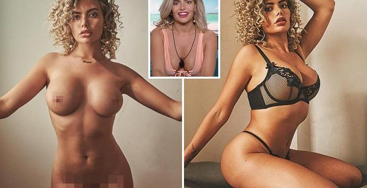 Love Island's Megan Barton Hanson gets totally naked in photoshoot after revealing she used to be a stripper