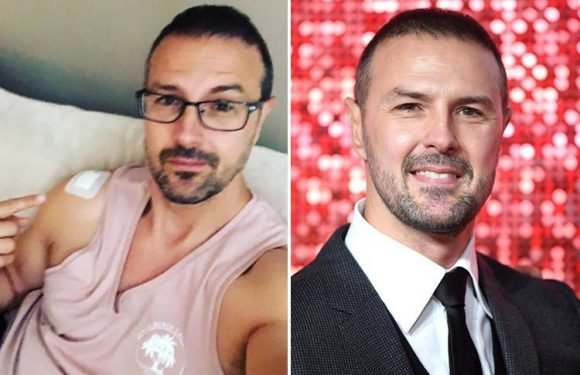 Paddy McGuinness reveals he's having painful steroid injections after being diagnosed with arthritis aged 44