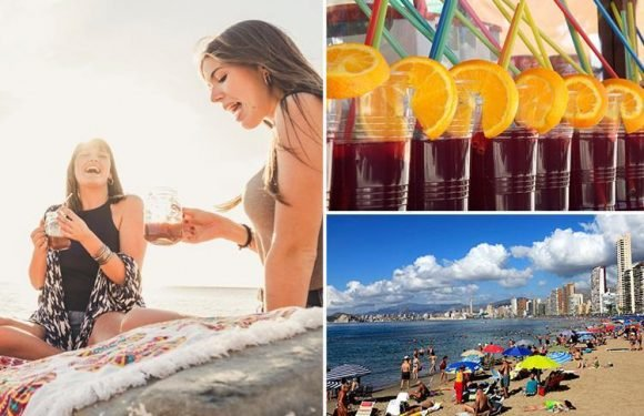 Brits in Benidorm and Magaluf are downing putrid £4-a-throw cocktails made with fruit rinsed in TOILET WATER