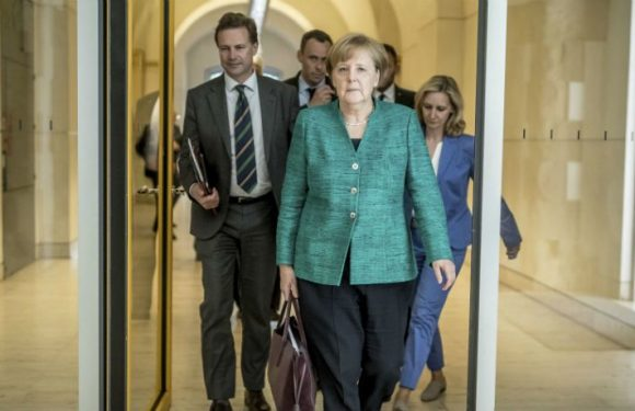 Angela Merkel Faces Political Crisis As German Government Is At Standstill Over Immigration Policy