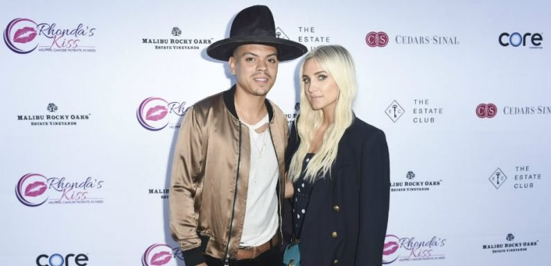 Ashlee Simpson-Ross And Husband Evan Watch Diana Ross Perform Live