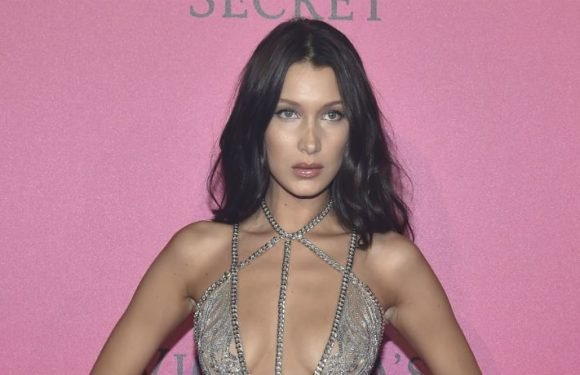 Bella Hadid Shares Nearly Nude 'Vogue' Cover