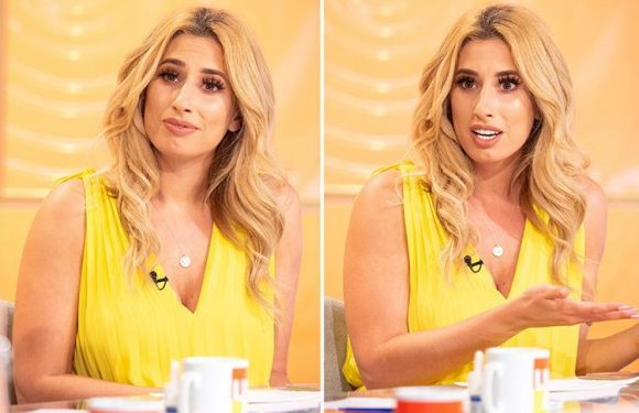 Stacey Solomon says Loose Women 'health talk' makes her paranoid about falling ill