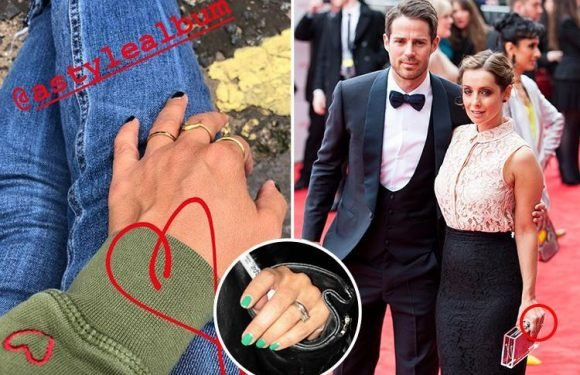 Louise Redknapp replaces her wedding ring with a simple gold band as she embraces single life after divorce from husband Jamie