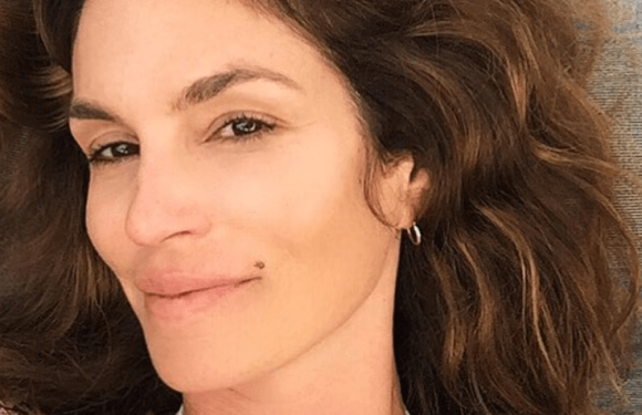 Cindy Crawford No Makeup, Bare-Face Selfies: Pics
