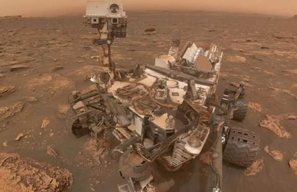 Curiosity Rover Takes 'Stunning' Selfie Amid Mars Dust Storm