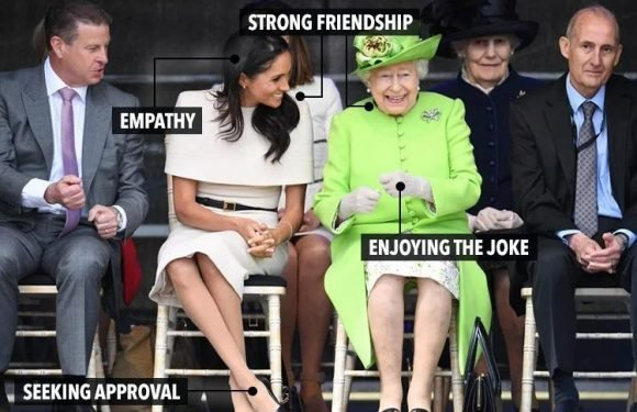 Meghan Markle gets the 'seal of approval' from the Queen, body language expert reveals
