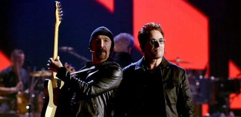 U2 Dedicate Song To The Late Anthony Bourdain At Apollo Concert