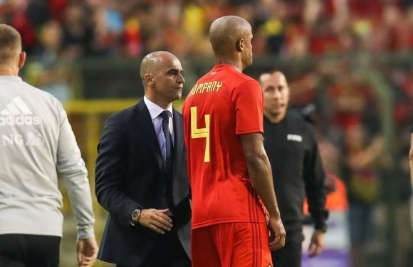 Belgium star Vincent Kompany suffers injury blow to leave World Cup in doubt