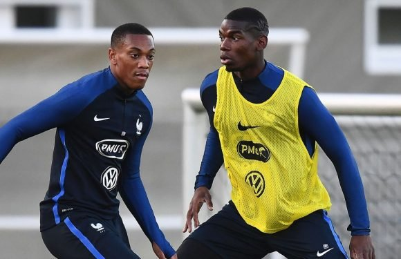 France legend slams Man United duo for letting country down