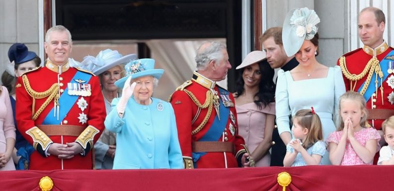 Meghan, With Prince Harry, Makes Balcony Debut Alongside In-Laws