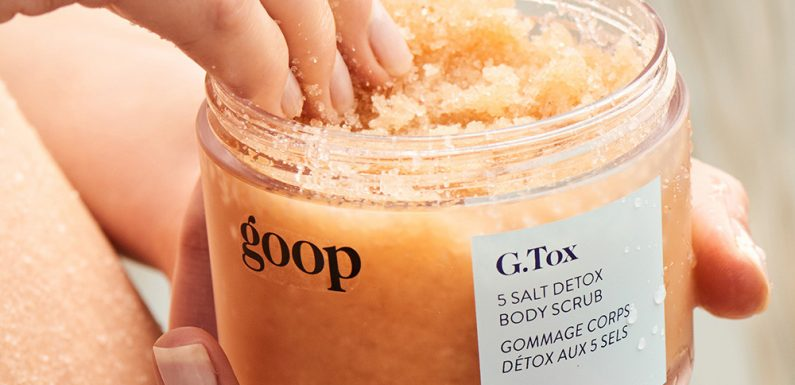 Goop Is Releasing G.Tox Collection for Body: Details