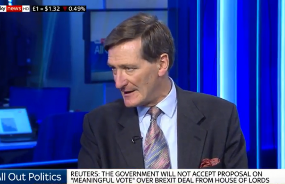 Arch-rebel Dominic Grieve says he wants to DELAY Brexit if talks with the EU don't produce a deal soon