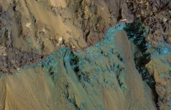The Hale Crater On Mars Looks Full Of Color In This New MRO Photo